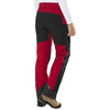 Lundhags Antjah lange broek Dames rood/zwart
